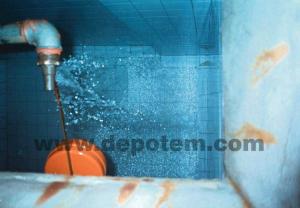 Fayans su deposu temizliği