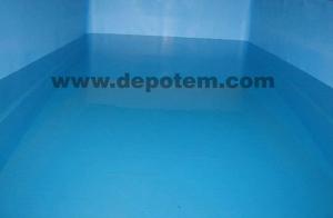 pvc membran su deposu yalıtımı